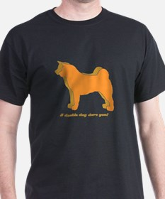 Akita Double Dog T-Shirt