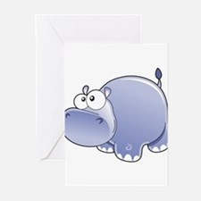 Happy Hippo Greeting Cards (Pk of 10)