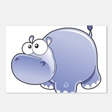 Happy Hippo Postcards (Package of 8)