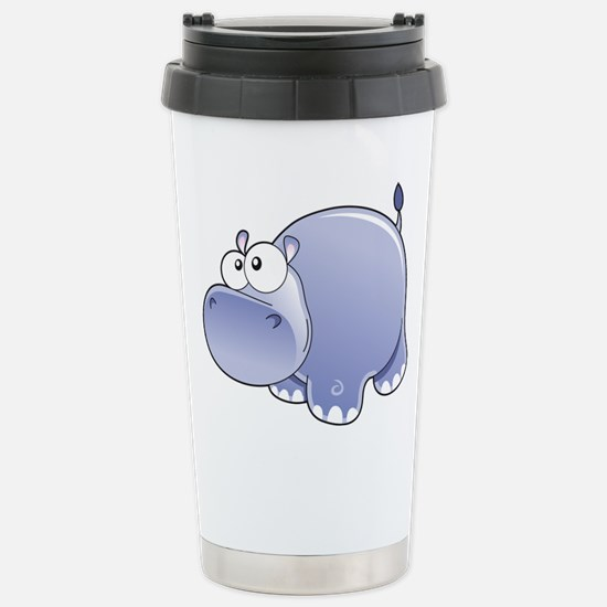 Happy Hippo Travel Mug