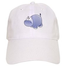 Happy Hippo Baseball Baseball Baseball Cap