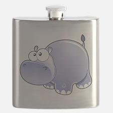 Happy Hippo Flask