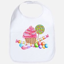 Wonderland Sweets Bib