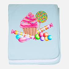 Wonderland Sweets baby blanket