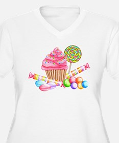 Wonderland Sweets Plus Size T-Shirt