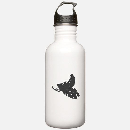 Snowmobile - Snowmobiling Water Bottle