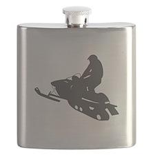 Snowmobile - Snowmobiling Flask