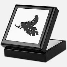 Snowmobile - Snowmobiling Keepsake Box
