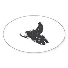 Snowmobile - Snowmobiling Decal