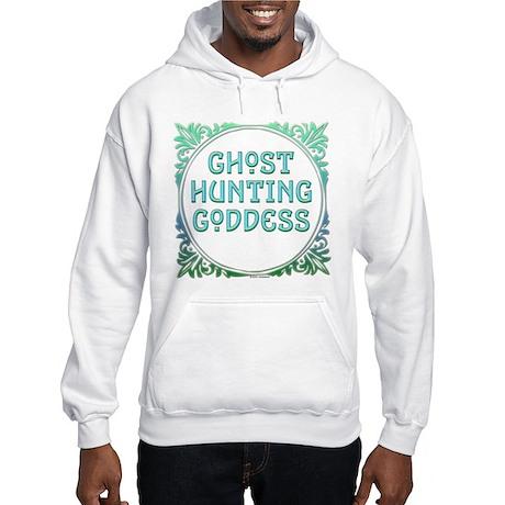 Ghost Hunting Goddess Hooded Sweatshirt