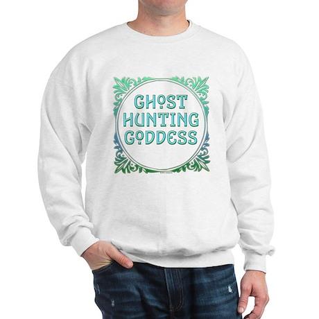 Ghost Hunting Goddess Sweatshirt