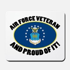 Proud Air Force Veteran Mousepad