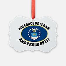 Proud Air Force Veteran Ornament