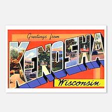 Kenosha Wisconsin Greetings Postcards (Package of