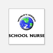 World's Sexiest School Nurse Sticker