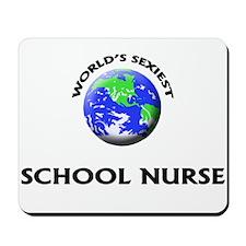 World's Sexiest School Nurse Mousepad