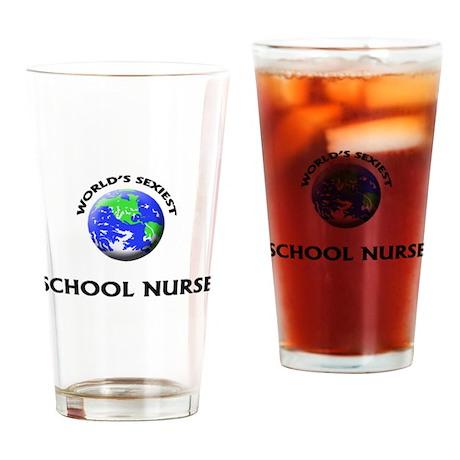 World's Sexiest School Nurse Drinking Glass