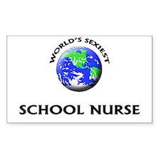 World's Sexiest School Nurse Decal