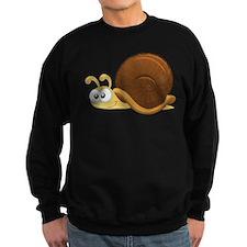 Tan Cartoon Snail Jumper Sweater