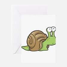 Spotted Snail Greeting Card