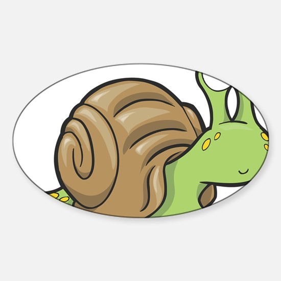 Spotted Snail Decal