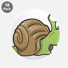 "Spotted Snail 3.5"" Button (10 pack)"