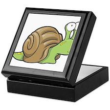 Spotted Snail Keepsake Box