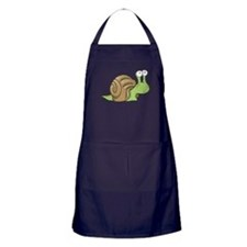 Spotted Snail Apron (dark)