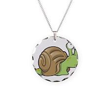 Spotted Snail Necklace