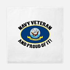 Proud Air Force Veteran Queen Duvet