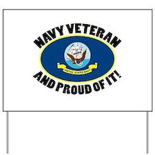 Proud Air Force Veteran Yard Sign