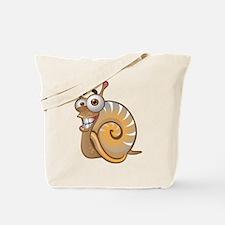 Happy Snail Tote Bag