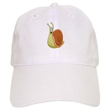 Excited Snail Baseball Baseball Cap