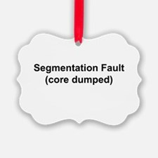 Segmentation Fault Ornament
