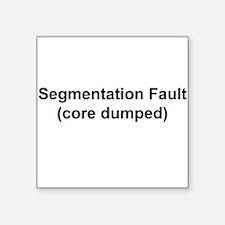 Segmentation Fault Sticker