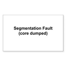 Segmentation Fault Decal