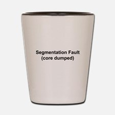 Segmentation Fault Shot Glass