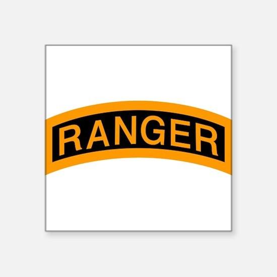 Ranger Tab Rectangle Sticker