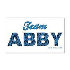 TEAM ABBY Car Magnet 20 x 12