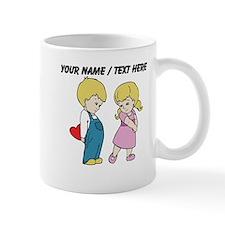 Personalized Cute Valentines Day Kids Mug