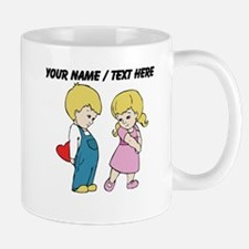 Personalized Cute Valentines Day Kids Mug