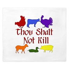 Thou Shalt Not Kill King Duvet