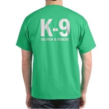 3-K9unit_blackBG T-Shirt