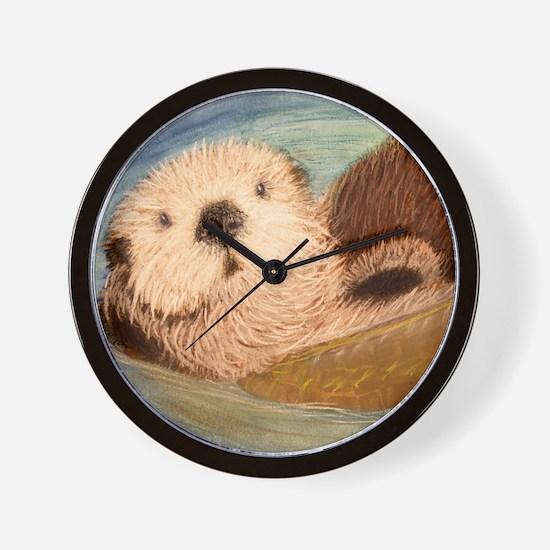 Sea Otter--Endangered Species Wall Clock