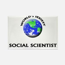 World's Sexiest Social Scientist Rectangle Magnet
