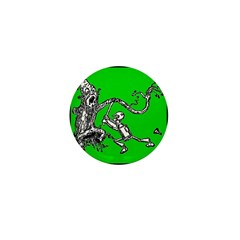 Attacked by the Fighting Tree Mini Button (100 pac