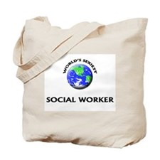 World's Sexiest Social Worker Tote Bag