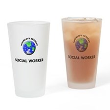 World's Sexiest Social Worker Drinking Glass