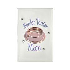 Border Terrier Mom Rectangle Magnet
