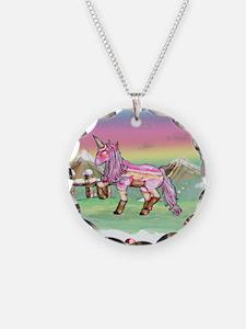 Ice Cream Unicorn Necklace